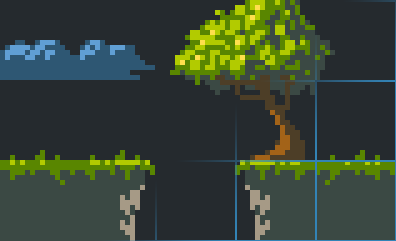 Pyxel Edit: pixel art and tileset creation tool
